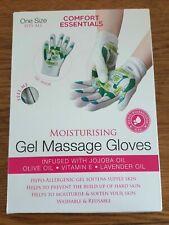 Moisturising Gel Massage Gloves One Size Fits All By Comfort Essentials BNIB NEW