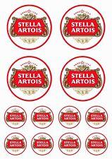 Stella Artois - 12 stück Vinyl-Aufkleber - 12 pieces Vinyl Stickers - #St01