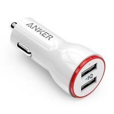 Anker 24W Dual USB Car Charger PowerDrive 2 for iPhone Galaxy Note LG - White