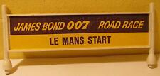 Gilbert O Gauge James Bond Le Mans Start Billboard for Road Race Set, O Scale
