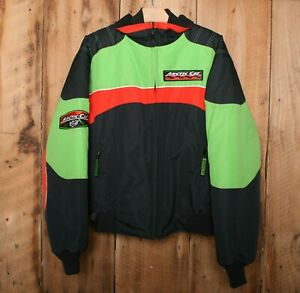 Vintage ARCTICWEAR Arctic Cat Interchangeable Snowmobile ZL Short Jacket Men's M