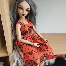 Halloween Pumpkin Dress For Minifee Mnf Slim Msd Bjd