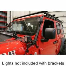 DeeZee 4446JL Jeep A-Pillar Light Brackets For Jeep Gladiator/Wrangler 2018-2020