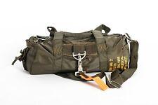 Borsone militare paracadutista palestra idrorepellente verde 13x40x20 US