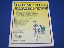The Mother Earth News, November 1970, Find & Finance A Farm, Free Wild Foods