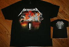 Metallica The Full Arsenal 2012 Canada Concert tour T-Shirt music tee Men XL New