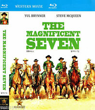 The Magnificent Seven / 7 - Yul Brynner Steve McQueen - [Blu Ray] Western (NEW)