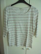 Hessnatur Bio Baumwolle Shirt NP: 69€ w NEU Designer Top Pullover Gr. 36 38 S