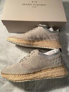 B,M Marc Fisher Womens Quinne Ivory Heel Sandals  Shoes 7 Medium BHFO 4671