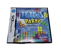 Tetris Party Deluxe (Nintendo DS, 2010)
