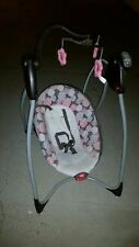 GRECO Comfy Cove DLX baby swing w/music, multi speed & multi position seat