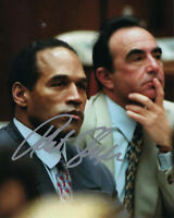 ROBERT SHAPIRO O.J. SIMPSON TRIAL LAWYER SIGNED AUTHENTIC 8X10 PHOTO 7 w/COA