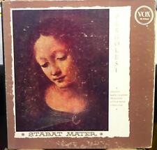 Kehr Sailer Munch - Pergolesi Stabat Mater LP VG PL 9960 Vinyl 1956 Record 1st