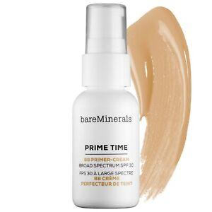 bareMinerals ❤️  Prime Time BB Primer Cream Daily Defence SPF30 Light Medium NEW