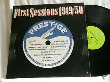 PRESTIGE: FIRST SESSIONS 1949-1950 Wardell Gray Sonny Stitt Leo Parker 2 LP