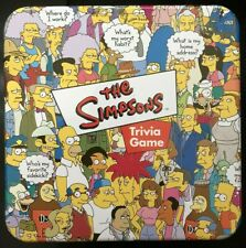 The Simpsons Trivia Game used in great condition, cards in bags