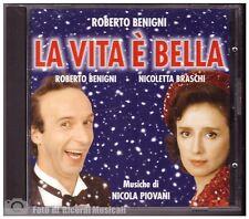 NICOLA PIOVANI - LA VITA E' BELLA **COME NUOVO** 1997 Made In Italy SOUNDTRACK