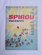 Journal SPIROU 1211 Vacances + mini récit Faux Schtroumpf n 68 - FRANQUIN - BD