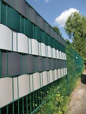Kunststoff Sichtschutz Streifen für Dopppelstabgittermatten Farbe anthrazit