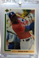 Rare: 1991 91 Upper Deck Michael Jordan #SP1, SP ROOKIE CARD White Sox Baseball