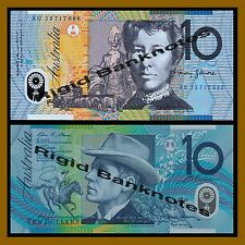 Australia 10 Dollars, 2013 P-58 Polymer Unc