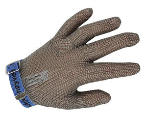 Honeywell Butchers Chainmail Protective Glove - CHAINEX 2000 - Textile Strap