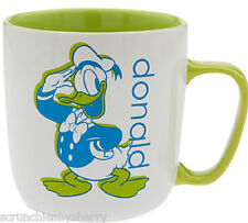 Disney Store Donald Duck Mug Coffee Cup Green New 2016