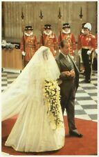 ❤alte POSTKARTE_Wedding '81_Prinzessin_Princess_Lady_DIANA_Earl Spencer_CHARLES