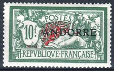 "ANDORRE STAMP TIMBRE 22 "" MERSON 10F VERT ET ROUGE "" NEUF xx TTB  M420"
