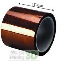 Kapton Tape - 5mm up to 500mm - Ideal for 3D Printer Beds - 200mm 20cm RepRap