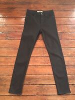 Topshop Moto Skinny Jeans Jamie  Black  Size 6 W25 to fit L28 Petite Defect Bx65