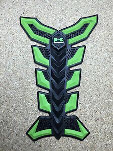 3D Rubber Motorbike Motorcycle Tank Pad  Kawasaki Ninja ZX H2R Z series (Type 4)