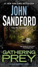 Prey: Gathering Prey Bk. 25 by John Sandford (2016, HARD COVER) FREE SHIPPING