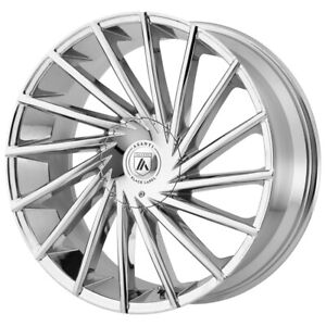 "Asanti ABL-18 Matar 20x8.5 6x135/6x5.5"" +30mm Chrome Wheel Rim 20"" Inch"