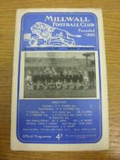 11/03/1957 Millwall v Banik Ostrava [Friendly] . Faults are listed in (brackets)