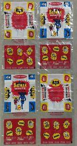 4 Original 1966 BATMAN & ROBIN DC COMICS Bread/Comic Book Bag NOS Vintage MINT