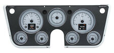 Dakota Digital 67-72 Chevy Pickup Customizable Gauge System Silver HDX-67C-PU-S