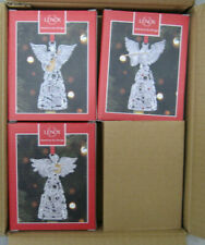 Lenox Jeweled Choir of Angels Ornament Set of 3 (New In Lenox Boxes) 865785