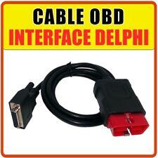 OBD2 16 broches - Câble de remplacement pour Valises Diag Delphi DS150 DS100