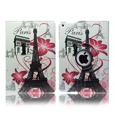 Leather Flip Book Stand Folio Protect Case Cover for Apple iPad Mini 4 iPad 2 Paris - France Eiffel Tower Francois Flo