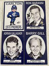 1970 VFL 50 Year Anniversary Carlton PREMIERS  SET JUMBO SIZE 4X6 Only 50 Made