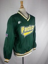 Green Bay PACKERS Pullover Lined STARTER NFL Pro Line AUTHENTIC Jacket Men's M
