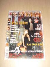 SPIRIT MAGAZINE Hors Série N°1 novembre 2000 buffy X-Files Charmed