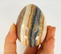 Large Apache Calcite Black Egg Specimen B, Natural Crystal Gemstone Rock Samples