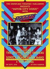 Original 1975 The Rockets Poster 13' X 18 3/4' Dennis Loren design