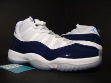 Nike Air Jordan XI 11 Retro WIN LIKE 82 WHITE UNIVERSITY BLUE NAVY 378037-123 DS