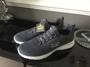 New With Tags Men's Skechers Memory Foam Lite Weight Trainers Size 10