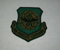 ~US AIR FORCE USAF AIR MOBILITY COMMAND SHOULDER PATCH SUBDUED GENUINE GI