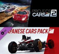 Project CARS 2 + Japanese Cars Bonus Pack PC *STEAM CD-KEY* 🔑🕹🎮