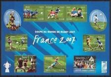 Bloc Feuillet BF110 - Coupe du monde de Rugby - 2007